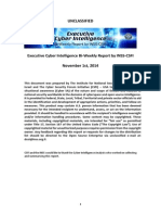 Executive Cyber Intelligence Bi-weekly Report (E-CIBR)-2014!11!01871986372