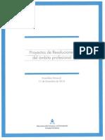 Proyecto Resoluciones Ambitos Profesionales