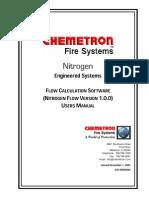 Nitrogen Flow Calc Manual