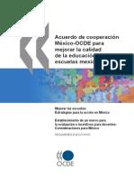 Acuerdo México-OCDE Para Mejorar La Calidad de La Educación en Las Escuelas Mexicanas