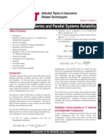 Series &Parallel Sys Reliabilty