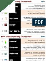 Insta Spanish eLearning Activity Chart