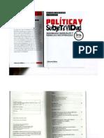 Política y Subjetividad- Ana María Fernández