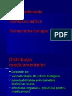 Curs 2 Farmacodinamia Farmacocinetica Farmacotoxicologia