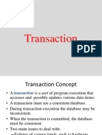 Transaction Managment