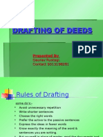 Drafting of Deeds