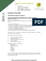 ECO Singapore 2005 Activities Report