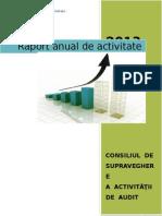 Raport Anual de Activitate 2013