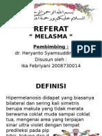 Referat melasma