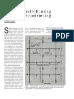 Repair and Retrofit Using External Post-Tensioning