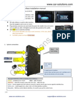 2012 Ford Navigator Interface Installation Guide