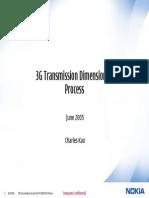 3G Transmission Dimension Ing Process