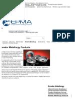 PM Products _ Powder Metallurgy _ European Powder Metallurgy Association (EPMA)