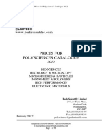 77 Park Scientific Ltd Polysciences Pricelist 2012 171