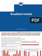 Digital Agenda Scoreboard Trends in European Broadband Markets 2014