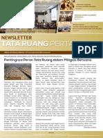 Newsletter Tata Ruang dan Pertanahan Edisi Januari 2015