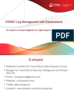 OSSEC Log Mangement With Elasticsearch