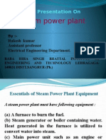 2013edusat Lecture on STEAM PLANT