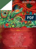 Mastodon OMTRTS Booklet