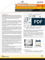 Bulletin 23 - Installation of Supply and Demand Side Controllers for Compressed Air System