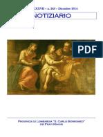 Notiziario 249 - Frati Minori di Lombardia