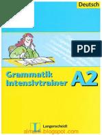 Langenscheidt Grammatik Intensivtrainer A2(1)