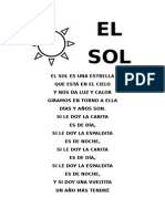 El Sol - Poesia