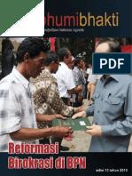 Majalah Bhumi Bhakti Edisi 13 Juni 2013