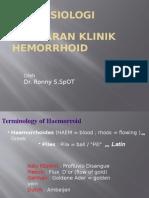 Hemorrhoid UNIBA