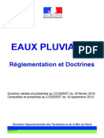 eaux pluvials Doctrine