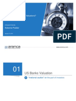 US Banking Industry Analysis | Valuation and Performance | Aranca Articles and Publications