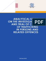 Analytical Study on the Investigation and Trial of Cases of Trafficking in Persons