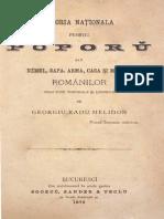 Georgiu Radu Melidon - Istoria Națională Pentru Poporŭ Saŭ Némul, Sapa, Arma, Casa Și Mintea Românilor Prin Tóte Timpurile Și Locurile