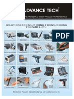 SOLUTIONS FOR SOLDERING & DESOLDERING FOR SMD & PTH