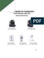 Guia Instalacion Rapida Camaras IP Foscam MJPEG Interior