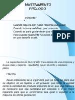 (G) Mantenimiento de m.e. de Microsoft PowerPoint