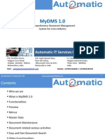 MyDMS - Document Management System