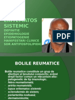 Lupus eritematos sistemic