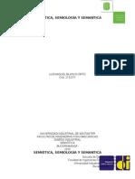Semiotica, Semiologia y Semantica.