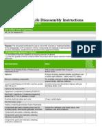 Disassembly_noteboK HP 250 G3