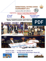 Bhopal International Rating Chess Tournament 2015