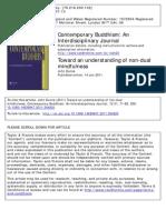 Dunne, John 2011-Nondual Mindfulness