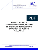 1 Manual Para La Administración Docente