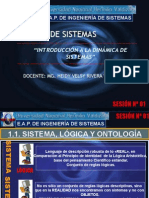 Sesión Nº 01- Introducción a La Dinámica de Sistemas