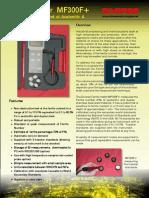 Ferrite (DIVERSE) Meter MF300F - Ferrite, Austenitic, Duplex Steel