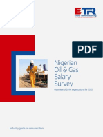 2015 Nigeria Oil & Gas Salary Survey - ETR