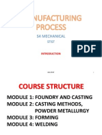 MANUFACTURING PROCESS Introduction PPT