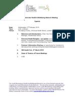 SW Health & Wellbeing Agenda 11 Feb.2015