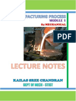 MP 1st Module Notes