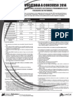 Convocatoria a Concursos de Postgrado y Residencias IVSS 2014